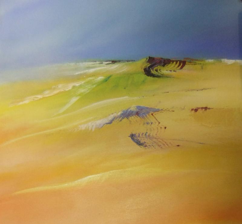 Abstrakte Landschaftsmalerei