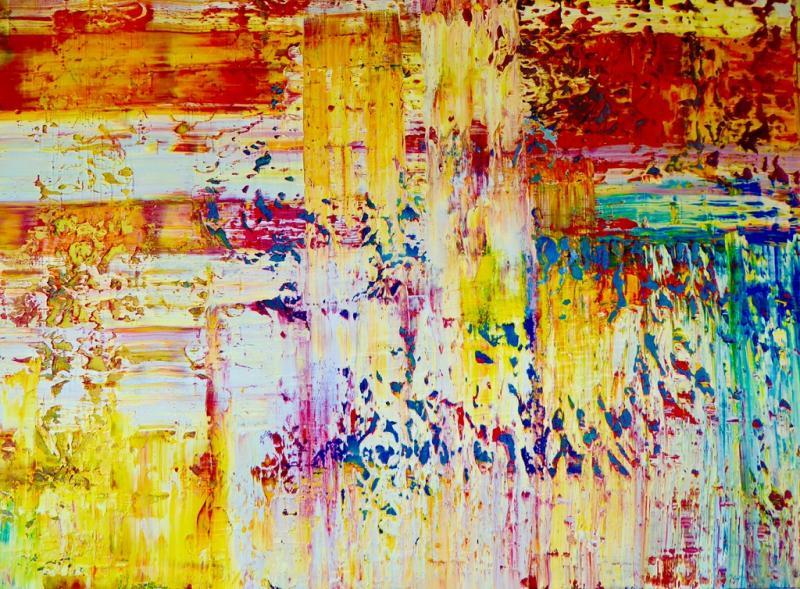 *Intuitive Malerei - Form und Farbe