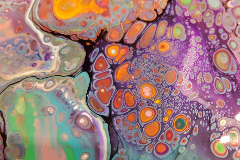 *Fluid Art - Acrylic Pouring