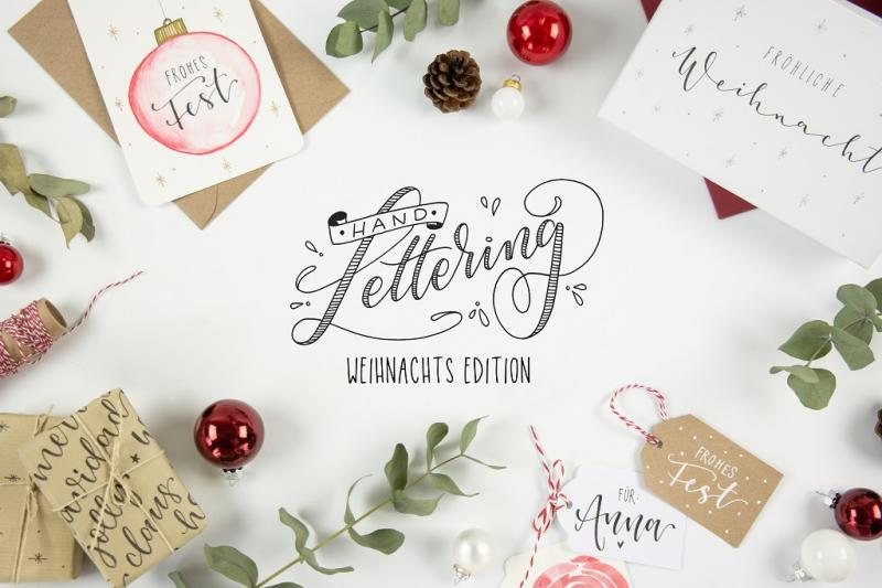 **Handlettering - Weihnachtsedition