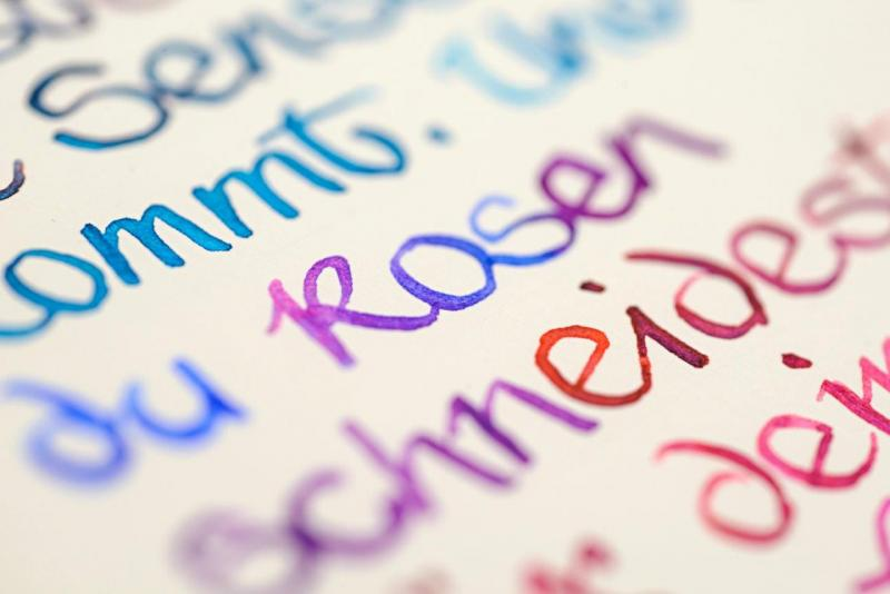 Kalligrafie - nicht nur zur Weihnachtszeit!